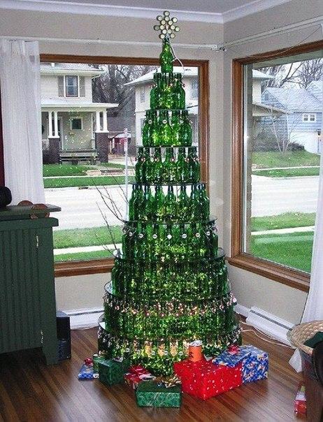 Оригинальные идеи новогодней ёлки