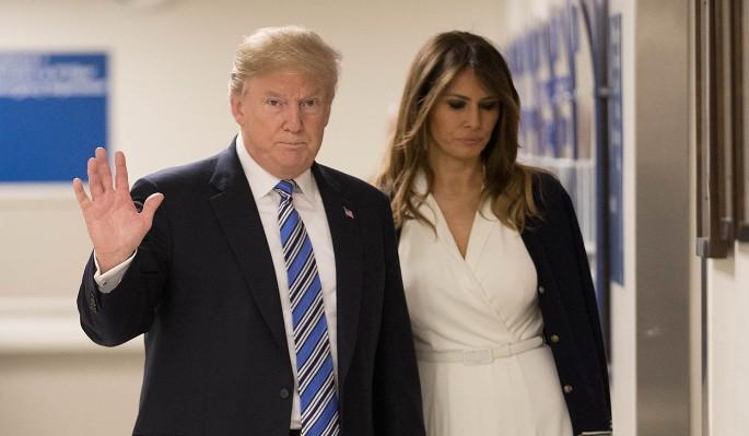Как Меланья Трамп дерзит мужу-изменщику