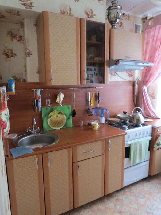 Кухонька 5 кв.м - максимум пространства и воздуха при минимуме мебели