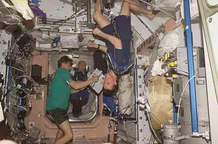 Биологические эффекты долговременного космического полёта
