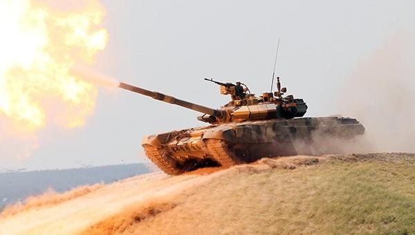 Сирийцы в восторге от Т-90 после применения их в южном Алеппо