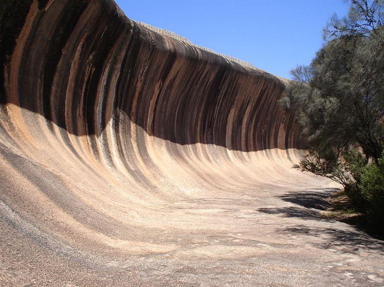 3. Волнистая скала, Западная Австралия красота, мир, природа