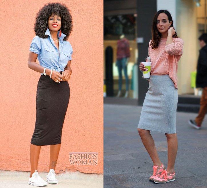 С чем носить юбку-карандаш и выглядеть модно фото №30