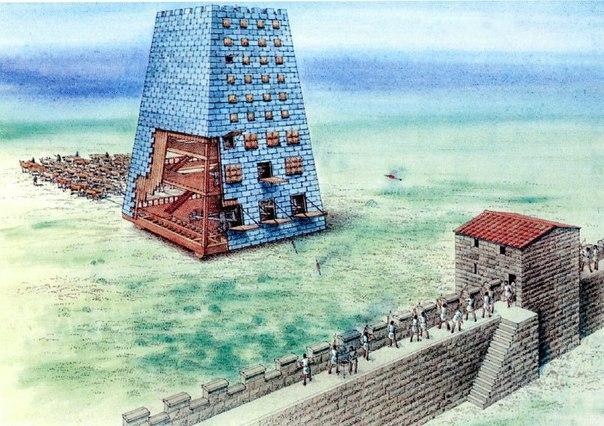 Греческие и римские осадные машины