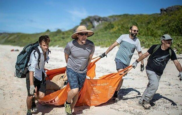 Необитаемый остров пал жертвой пластикового мусора мир,экология