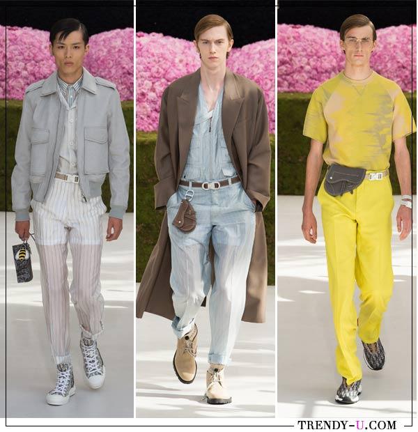 Модные мужские сумки Dior Homme для весны и лета 2019