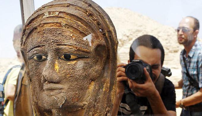 В Египте нашли древнюю мумиф…
