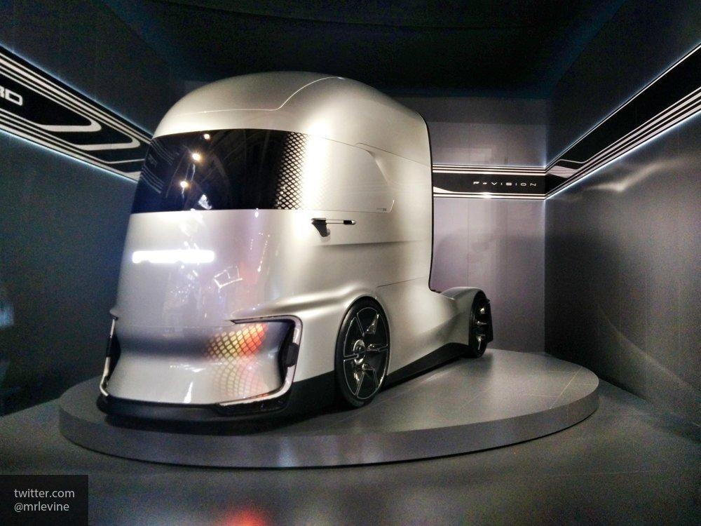 Компания Ford представила главного конкурента электрического грузовика Tesla Semi