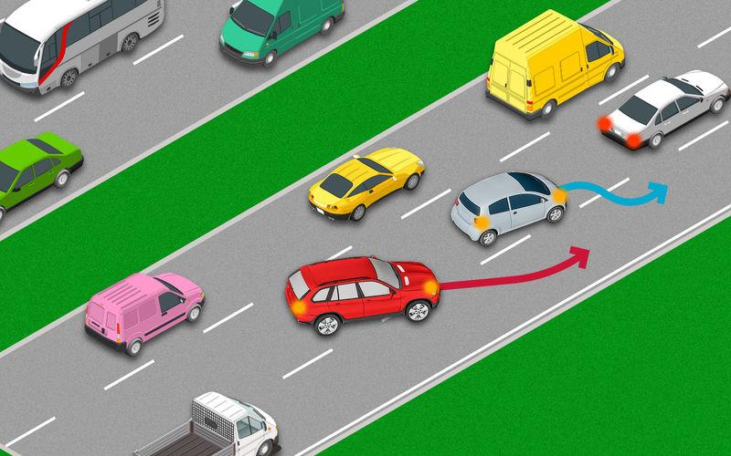Уступить наглецу или следовать ПДД? Большинство сделает ошибку! автомобиль,на дороге,НОВОСТИ,пдд
