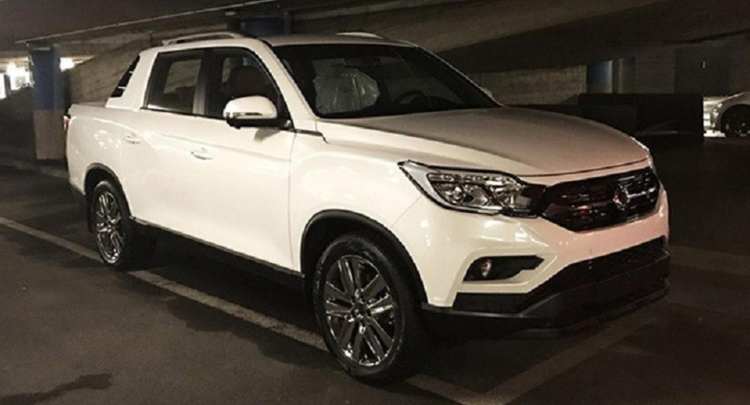 Новый пикап SsangYong Musso прибыл в Европу с ценником в 2,3 млн рублей Автомобили