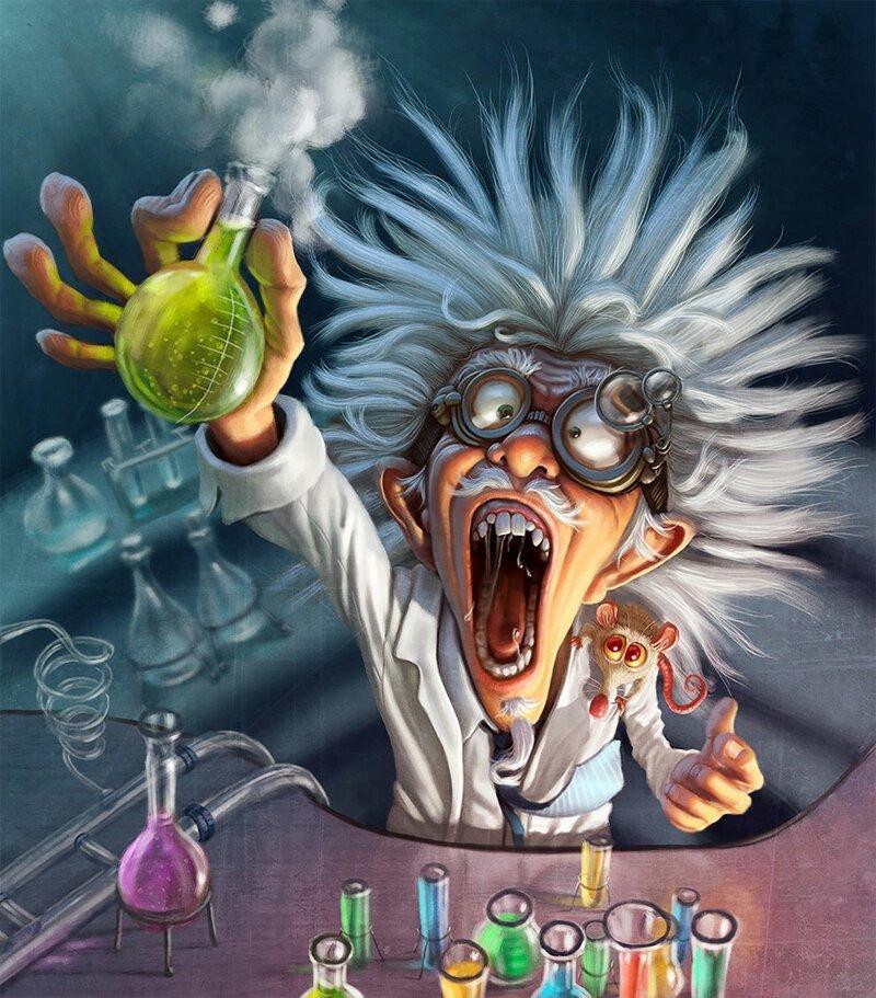 Картинки прикольные с химиками