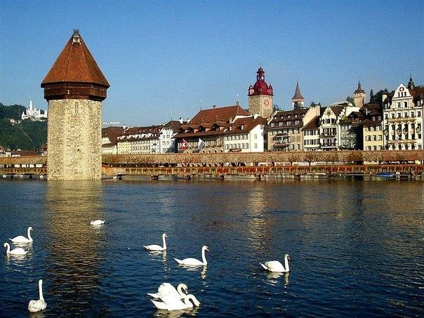 Люцерн - светлый город на берегу таинственного озера