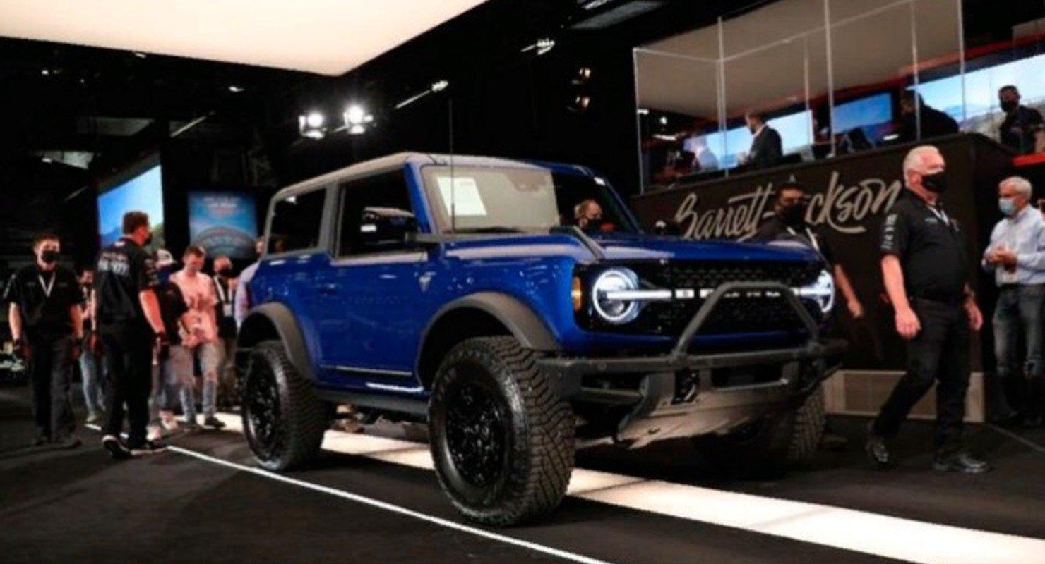 Первый Ford Bronco продали за 1,1 млн долларов Автомобили