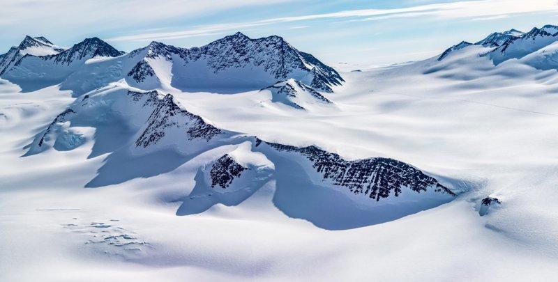 Горный массив Винсон антарктида, интересно, пик Винсона, путешествие, скалолазание, фотоотчет