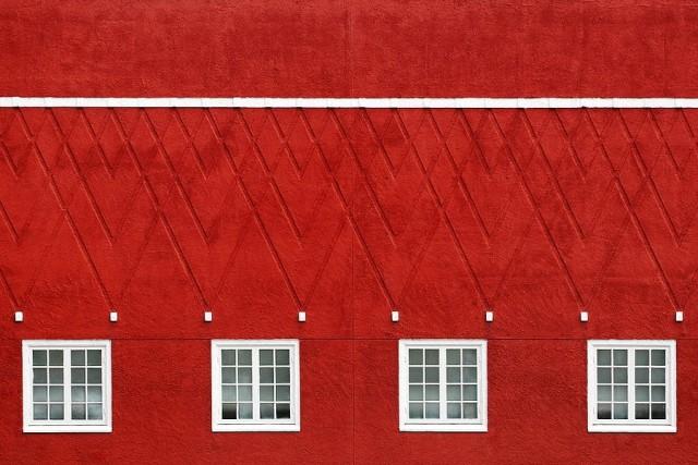 Гипнотизирующие цвета и паттерны в архитектурных фотографиях Эрика Дюфура