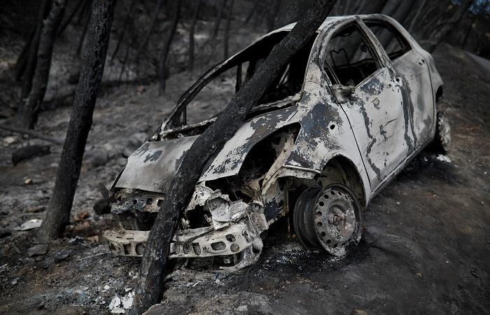Причиной пожаров в Греции стали поджоги