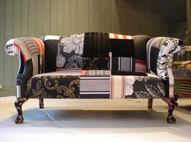 пэчворк фото, пэчворк в интерьере, мебель в стиле пэчворк, пэчворк текстиль, красивые интерьеры