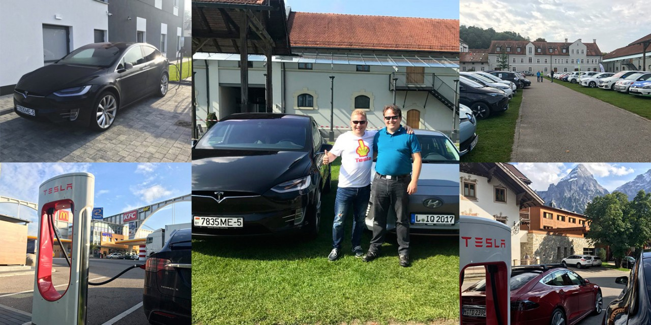 4000 километров на электромобиле. Минчанин рассказал о поездке в Мюнхен на Tesla