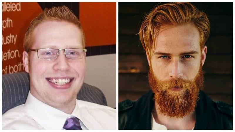 Парикмахер посоветовал парню отрастить бороду – и это полностью изменило его жизнь