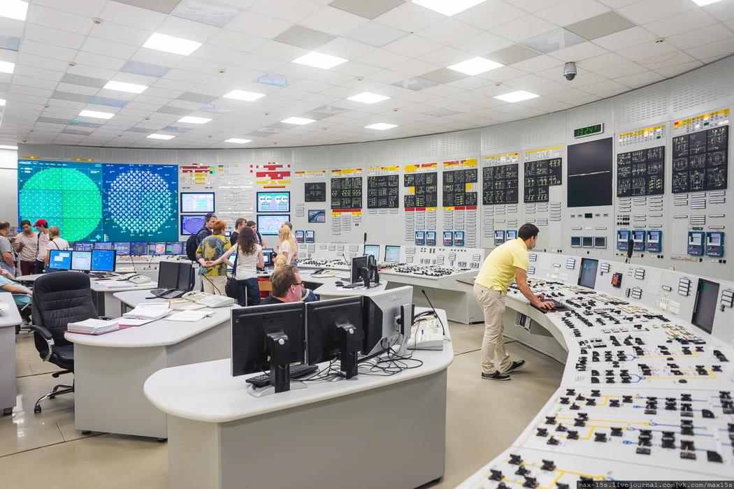 Экскурсия на Ленинградскую атомную станцию (ЛАЭС)