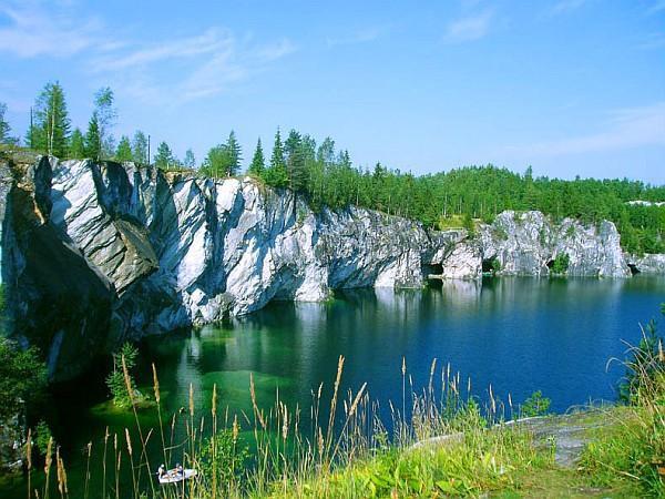 Мраморный каньон Рускеала Республика Карелия, деревня Рускеала история, ссср, факты