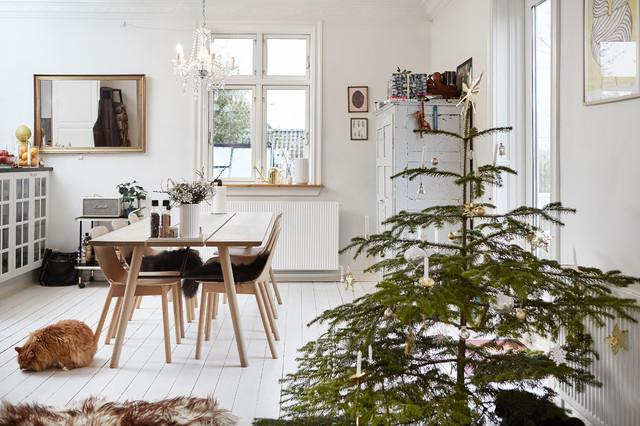 Сканди-шик —новогодний декор из природных материалов идеи для дома,интерьер и дизайн,новогодний декор