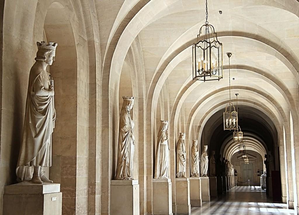 Версаль. Галерея французских королей