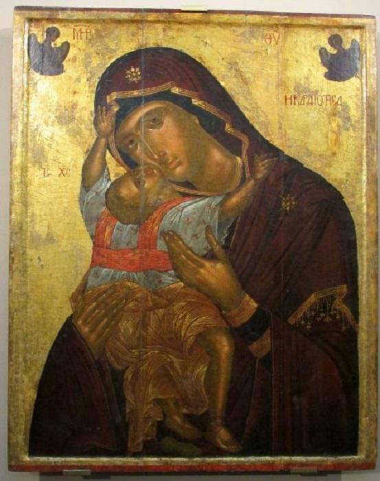 Икона Богоматери Кардиотисса (XV век)