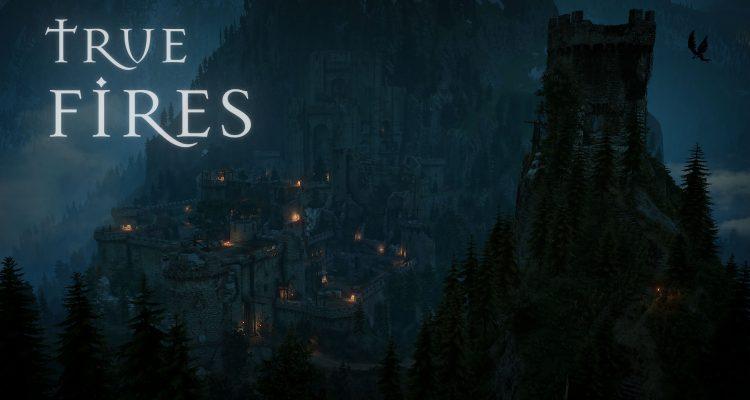 Мод True Fires для Ведьмака 3 улучшает качество огня, теней и источников света action,adventures,arcade,fantasy,pc,ps,xbox,Аркады,Игры,Приключения,Фентези
