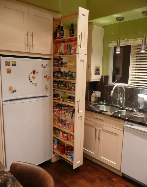 Купить узкий шкаф на кухню