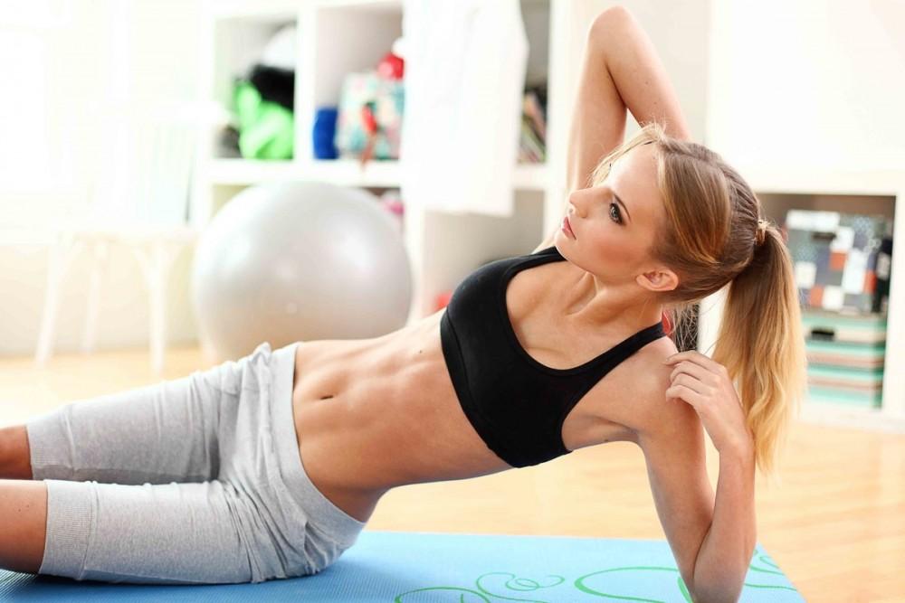 Фото с упражнениями убрать живот и бока белой берёзе