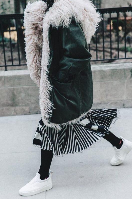 Уличная мода — подборка образов для стильной и теплой зимы
