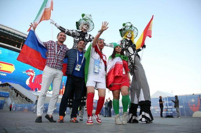 Москва офанатевшая: все краски мира в гости к нам!