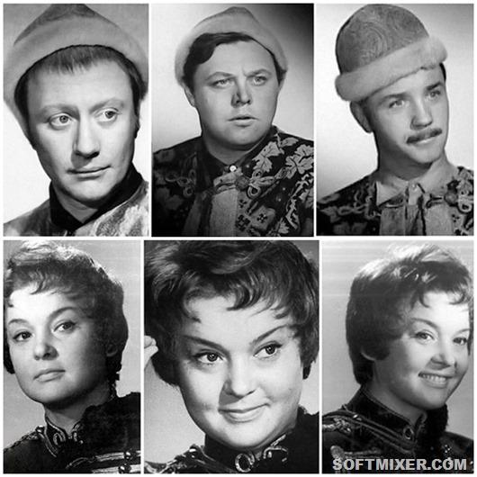 Советские актеры в несыгранных ролях…