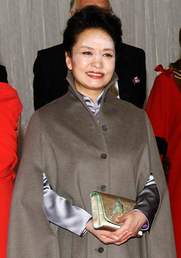 для фото первой леди китая семья актера