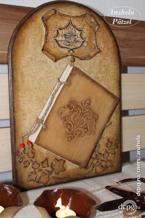 Мастер-класс Анжелы Петцел. Старинная книга рецептов