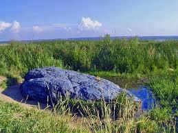 Синь камень на Плещеевом озере и древнее святилише. Фильм