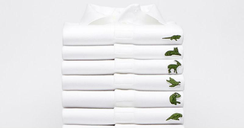 Lacoste выпустит поло, где крокодила на логотипе заменят исчезающие виды животных