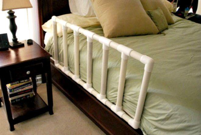 Некоторые детки спят с родителями установите такой ограничитель для кровати чтоб ребенок не упал не дай бог во сне
