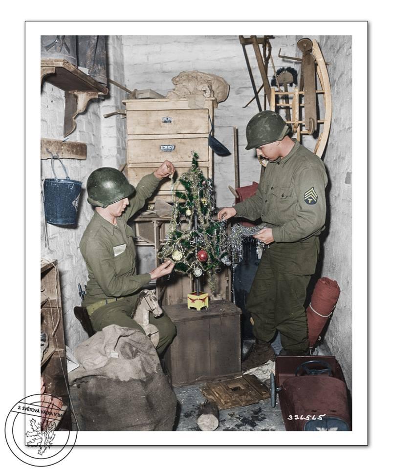 Как немцы взяли в плен два полка американцев. Декабрь 1944 г.