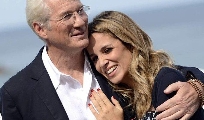Ричард Гир встретил настоящую любовь почти в 70 лет и делится секретом счастья актер,Заморские звезды,звезда,Ричард Гир,шоубиz,шоубиз