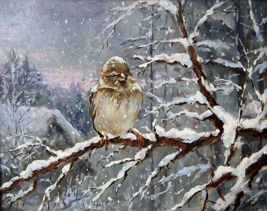 Русская красота в картинах Михаила Щрилёва