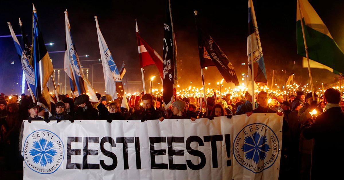 Нацизм становится нормой в Эстонии