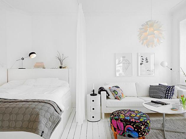 Мебель и предметы интерьера в цветах: черный, серый, белый, темно-коричневый. Мебель и предметы интерьера в стиле скандинавский стиль.