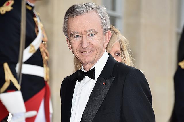 Состояние президента Louis Vuitton Бернара Арно увеличилось за день на 4 миллиарда долларов