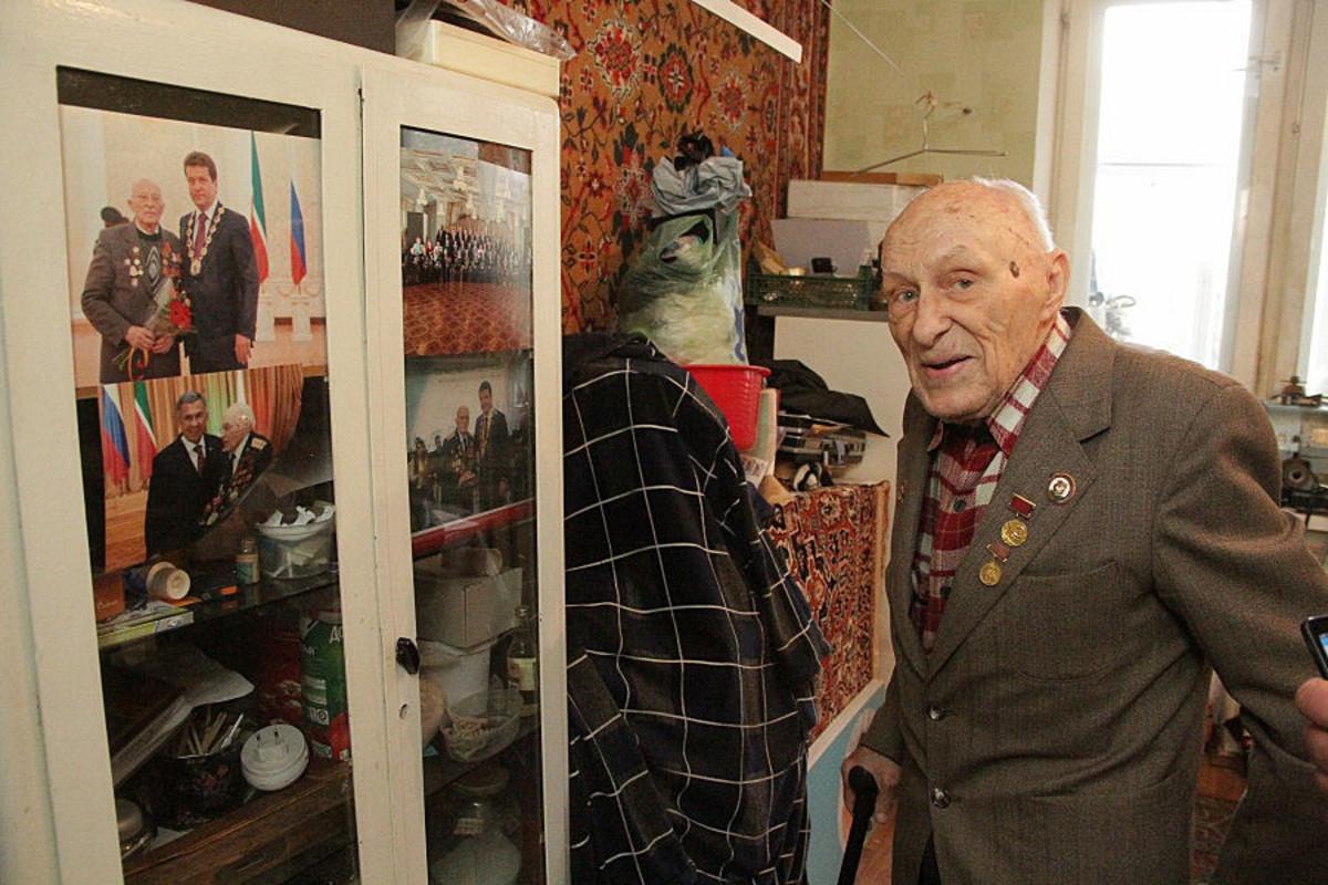 УК натравила коллекторов с паяльником на 92-летнего ветерана войны