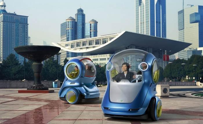 автомобиль будущего по мнению компании GM
