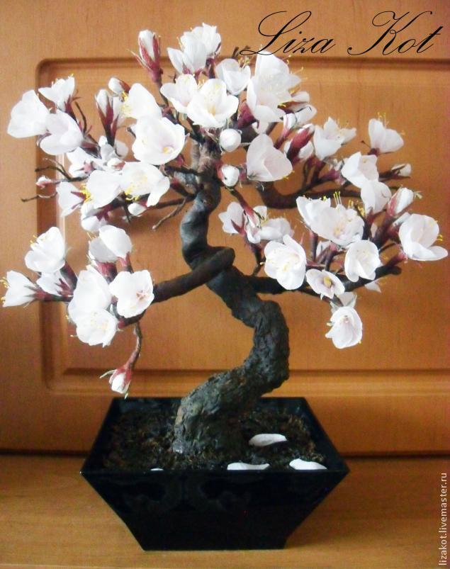 Дерево сакура как сделать 555