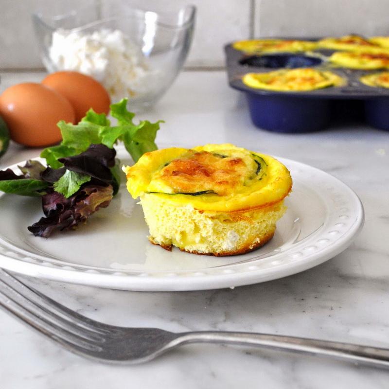 Как сохранить фигуру! Замечательный завтрак с цуккини и сыром рикотта!