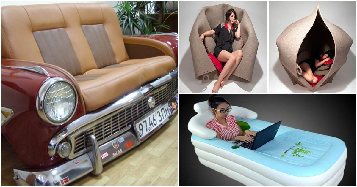 Мебель как искусство: примеры дизайна, которые вас впечатлят